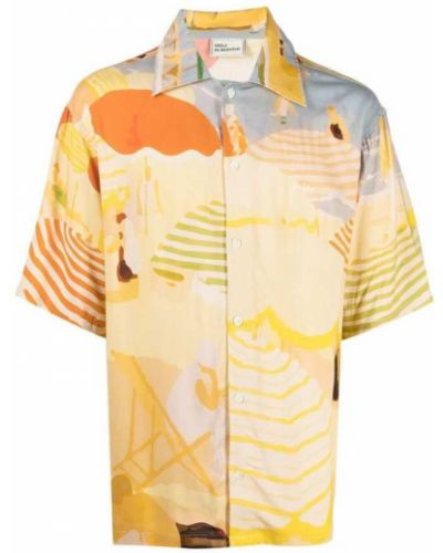 Beżowa koszula Drole De Monsieur