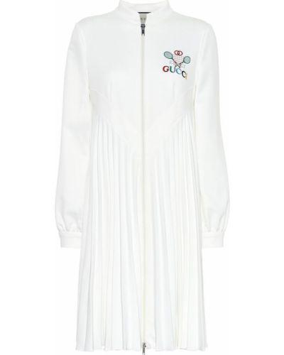 Платье с вышивкой винтажная Gucci