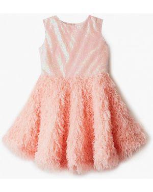 Розовое платье на торжество смена