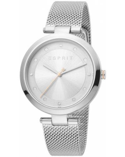 Zegarek mechaniczny srebrny kwarc Esprit