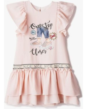 Платье розовый повседневное Mili