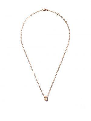 Biały złoty naszyjnik z diamentem Pomellato