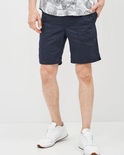 Синие повседневные шорты с карманами O'stin