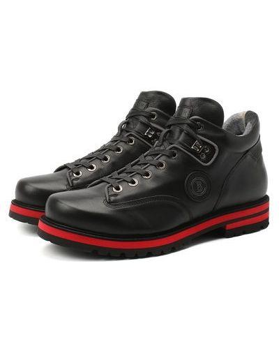 Кожаные ботинки с подкладкой Bogner