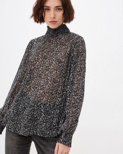 Блузка с длинными рукавами - черная Q/s Designed By