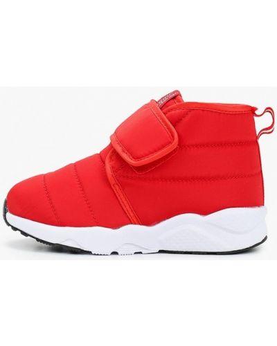 Красные текстильные ботинки Beppi