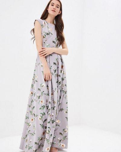 Вечернее платье серое Ksenia Knyazeva