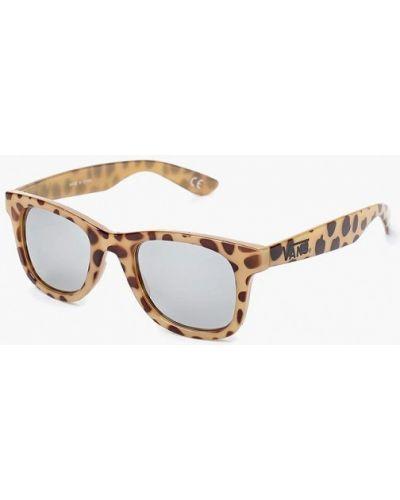 Бежевые солнцезащитные очки Vans