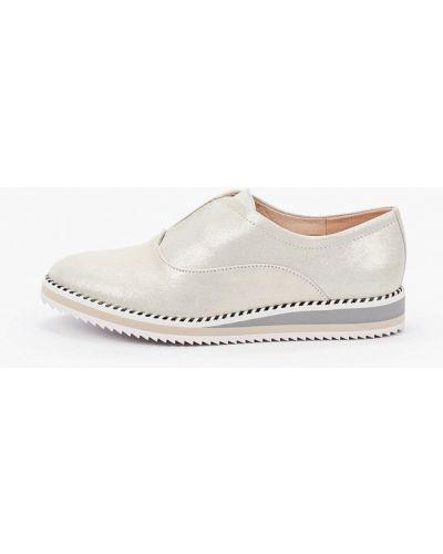 Велюровые серебряные ботинки Pazolini