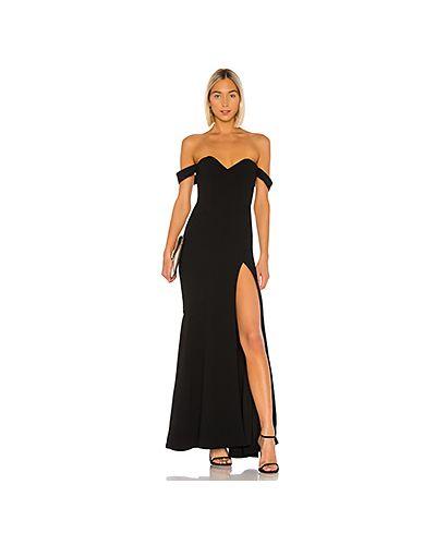 Вечернее платье на молнии с открытыми плечами Nbd