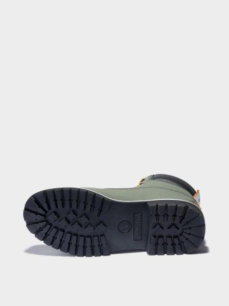Водонепроницаемые зеленые кожаные ботинки Timberland