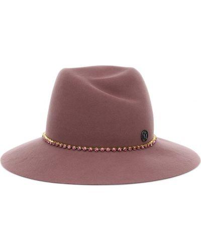Wełniany kapelusz Maison Michel