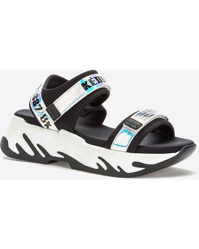 Черные сандалии Keddo