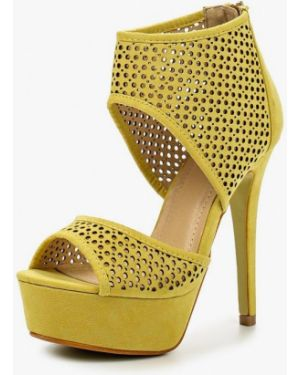 Желтые босоножки Fersini