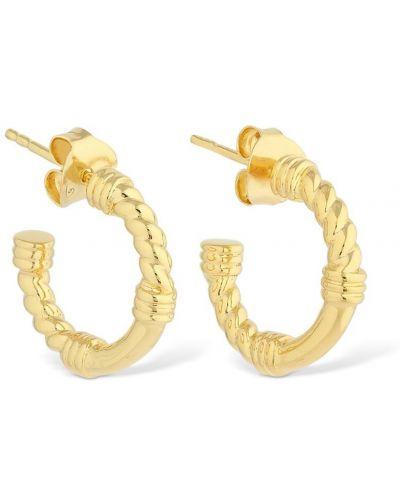 Kolczyki pierścionki kolczyki ze sztyftem srebrne Missoma