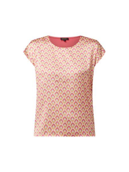 Bluzka z wiskozy - różowa More & More