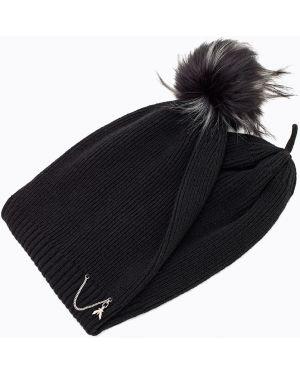 Кашемировая шапка - черная Patrizia Pepe