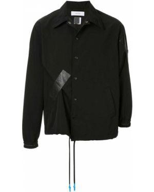 Нейлоновая черная куртка Facetasm