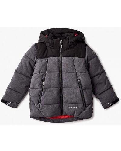 Куртка теплая серая Icepeak