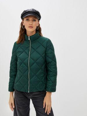 Утепленная куртка - зеленая Mango