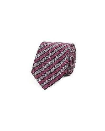 Розовый галстук Versace