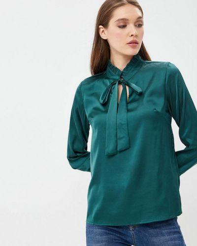 Зеленая блузка с бантом Sartori Dodici