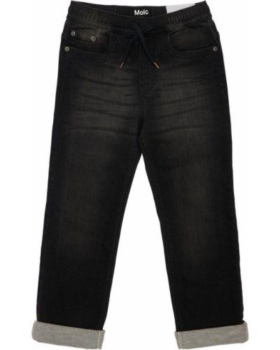 Черные джинсы на резинке Molo