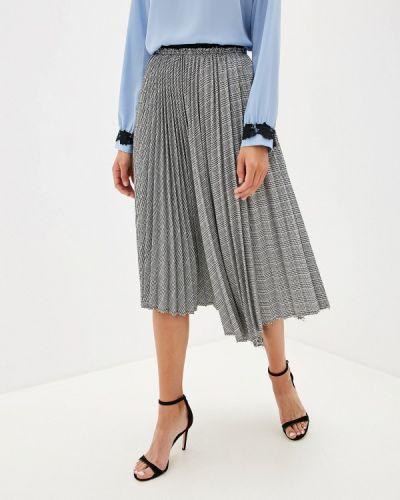 Плиссированная юбка серая Silvian Heach