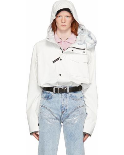Белая длинная куртка Y/project