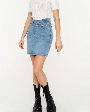 Джинсовая юбка свободного кроя Befree