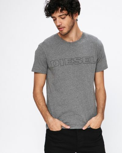 Серая футболка Diesel