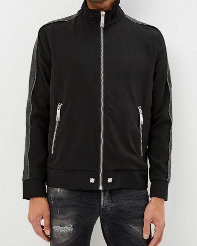 Черная куртка осенняя John Richmond