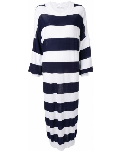 Свободное платье макси в рубчик Sonia Rykiel