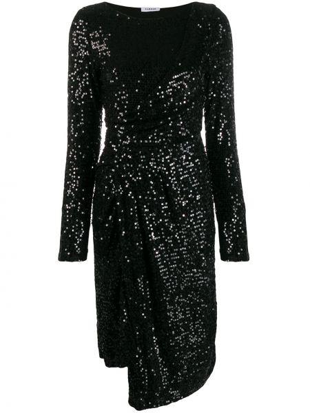 Платье макси с пайетками с вышивкой P.a.r.o.s.h.