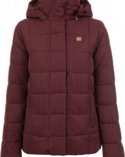 Утепленная куртка с капюшоном укороченная Fila