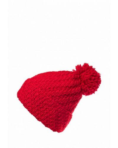 Красная шапка с помпоном Check Ya Head