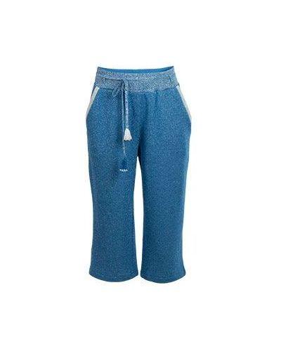 Спортивные брюки с начесом хлопковые Patrizia Pepe