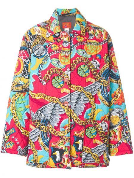 Дутое пальто с капюшоном Kenzo Pre-owned