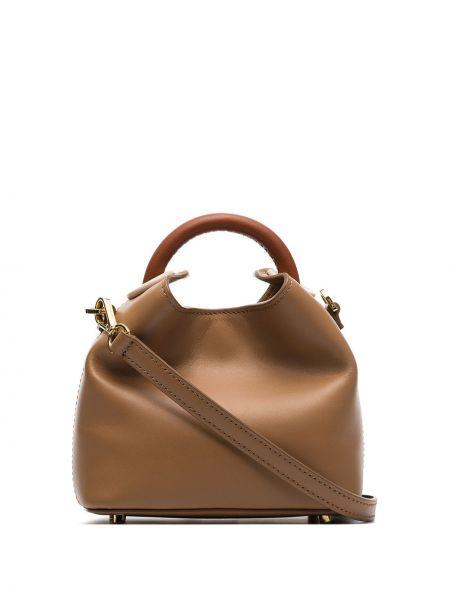 Кожаная сумка маленькая сумка-тоут Elleme