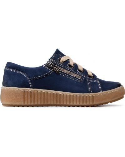Туфли - синие Waldi