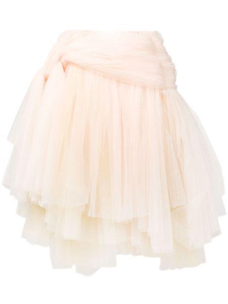 С завышенной талией юбка миди из фатина Comme Des Garçons