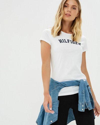 Белая футболка 2019 Tommy Hilfiger