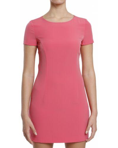 Платье осеннее розовое Frankie Morello