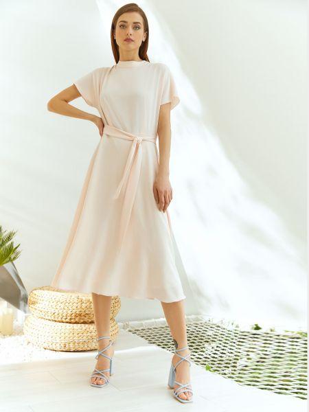 Платье персикового цвета Vovk