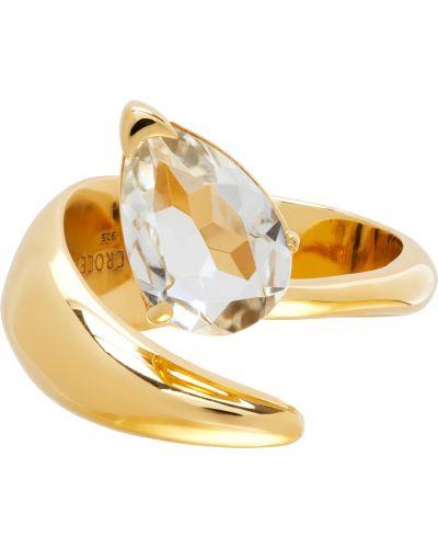Zielony złoty pierścionek ametyst Alan Crocetti
