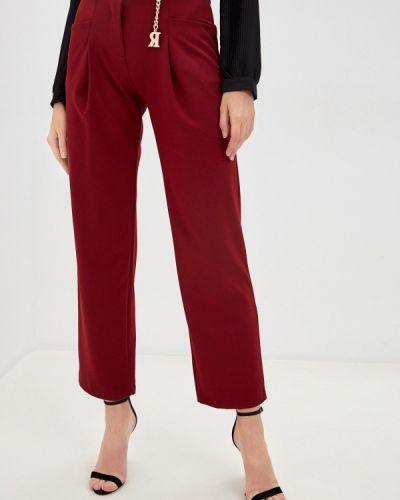 Повседневные красные брюки Rinascimento