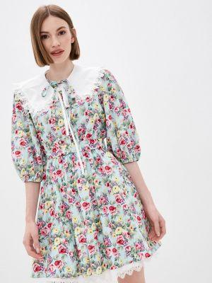 Бирюзовое платье Miss Gabby