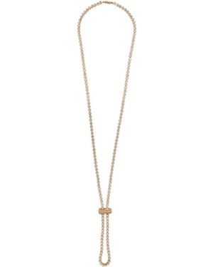 Ожерелье золотой Jacquemus