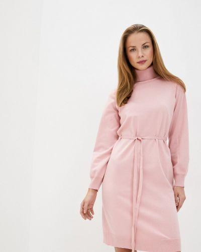 Розовое вязаное платье Baon