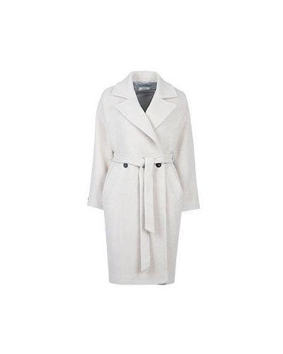 Пальто бежевое пальто-халат Peserico